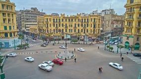 Tráfico en El Cairo metrajes
