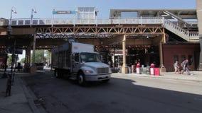 Tráfico en el parque de mimbre, Chicago HD