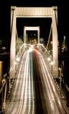 Tráfico en el puente de Elizabeth Fotografía de archivo