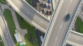 Tráfico en la carretera HD metrajes