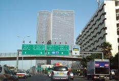 Tráfico en la ciudad Fotos de archivo