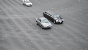 Tráfico en Las Vegas almacen de metraje de vídeo
