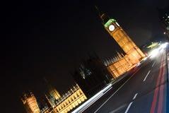 Tráfico en Londres Foto de archivo libre de regalías