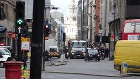 Tráfico en Londres Imagen de archivo