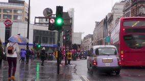 Tráfico en Londres metrajes