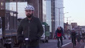 Tráfico en Londres almacen de video