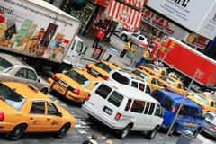 Tráfico en Nueva York Imagen de archivo libre de regalías