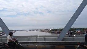 Tráfico en Pontianak almacen de video