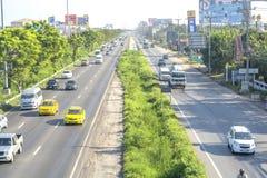 Tráfico en Tailandia Imagen de archivo libre de regalías