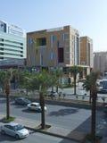 Tráfico ligero en rey Fahad Road foto de archivo libre de regalías