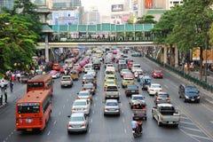Tráfico por carretera Foto de archivo