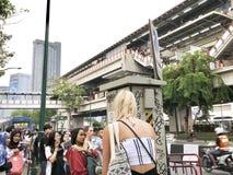 Tráfico Tailandia fotos de archivo