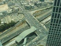 Tráfico, Tel Aviv, Israel Foto de archivo libre de regalías