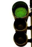 Tráfico verde claro Fotografía de archivo libre de regalías