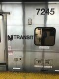 Tránsito de NJ imagenes de archivo