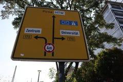Trânsito, em Alemanha imagens de stock