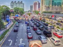 Trânsito intenso Imagem de Stock Royalty Free