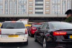 Trânsito intenso Imagem de Stock