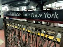 Trânsito Penn Station de NJ imagem de stock royalty free