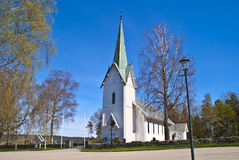 Trømborg church (south-west) Stock Photography