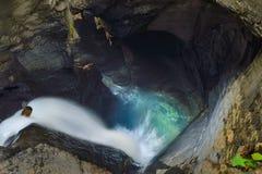 Trà ¼mmelbach Fälle (vattenfallet), Schweiz Royaltyfri Fotografi