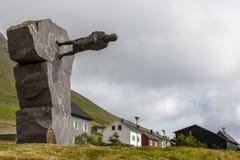 TrÃ-³ ndur à Gøtu, Färöer, Dänemark Lizenzfreie Stockfotos