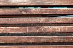 Trä bakgrund, golvet, tabellen, mörker, träyttersida för tillfogar text eller planlägger garneringkonstarbete arkivbild