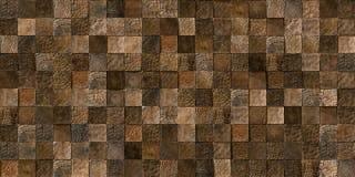 Trä belägger med tegel sömlös textur Royaltyfria Bilder