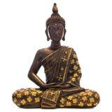 Trä  buddha Royaltyfria Foton