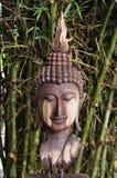 Trä  buddha Royaltyfri Bild