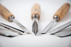 Trä-cutting hjälpmedel royaltyfri fotografi