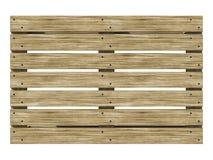 Trä euro-förse med rutor den bästa sikten illustration 3d royaltyfri illustrationer