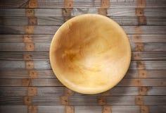 trä för övre sikt för tema för sked för kök för utrustning för bakgrundsbunkematlagning organiskt rått arkivbilder