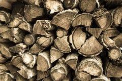 Trä för brand Arkivbild