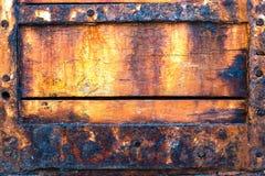 trä för lager för tappning för textur för metall för element för arkitekturbakgrundsdörr gammalt lantligt Fotografering för Bildbyråer