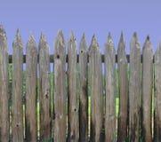 trä för palisadestolpeavsnitt fotografering för bildbyråer