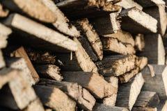 trä för seamless textur för closeup belägga med tegel Royaltyfri Bild