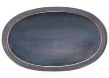 trä för trencher för bunkedeg ovalt arkivbilder
