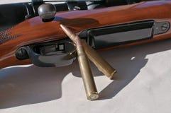 Trä30 gevär som 06 lägger på det, är sidan royaltyfri foto