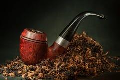 Tobak leda i rör Royaltyfria Bilder