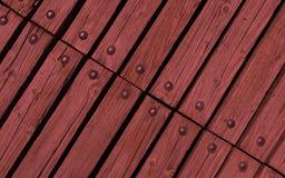 Trä med nitar Royaltyfria Bilder