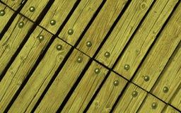 Trä med nitar Royaltyfria Foton