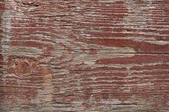 trä som målas med brun målarfärg, gammal målarfärg Arkivbilder