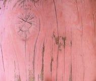 Trä stiga ombord Arkivfoto