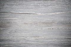 Trä texturerar Grått timmerbräde med red ut sprickalinjer Naturlig bakgrund för sjaskig chic design Grå trägolvbild Ag royaltyfri foto