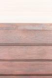 Trä texturerar ljus eklinje tegelplatta för golv upp den gamla peelen för teakträradöga Royaltyfri Fotografi