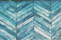 Trä texturerar Skrapade paneler för mintkaramellbakgrund gammal gräns Arkivbild