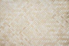 Trä vävde gamla modeller för väggtexturnatur för bakgrund arkivfoton