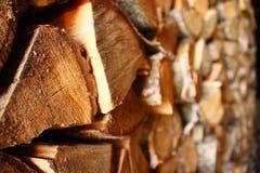 Trä vedträ, fuelwood, bränsleträ fotografering för bildbyråer