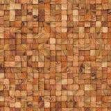 Träabstrakt begrepp kvadrerar bakgrunden 3d som framför geometriska polygoner Royaltyfri Fotografi